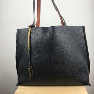 Street Level vegan leather tote bag